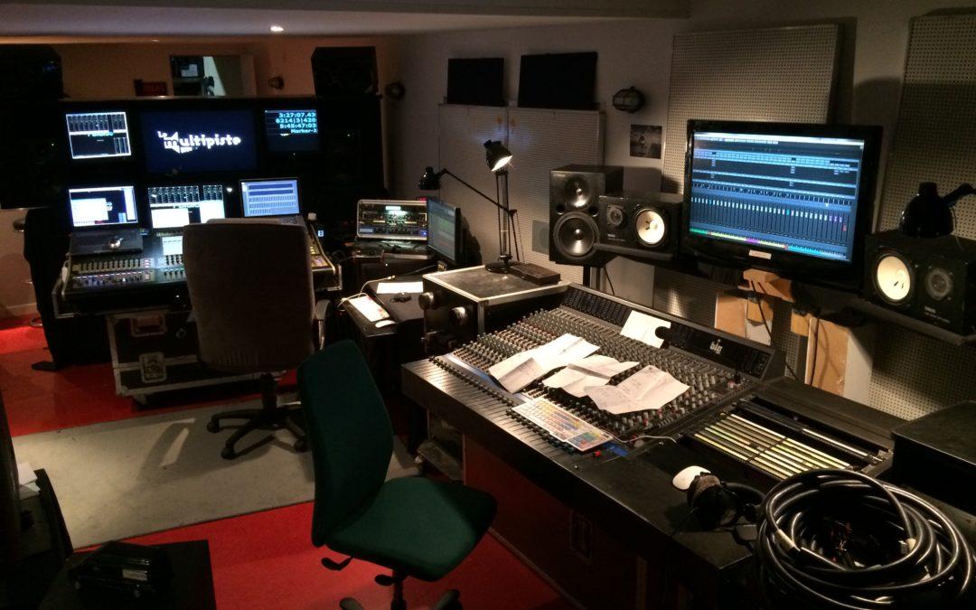 Nouvelle régie Analogique au studio!