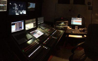 Mixage d'un live au studio