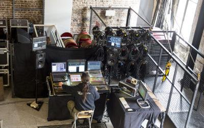 Le studio mobile dans un décor atypique